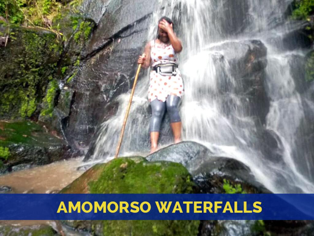Amomorso waterfall